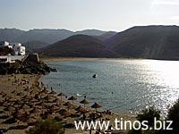 παραλία της Κολυμπήθρας- Τήνος