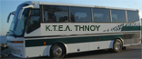 Tinos buses - Information, services, timetables