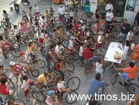 Ποδηλατική διαδρομή απο το Βρέκαστρο μέχρι το λιμάνι της Τήνου